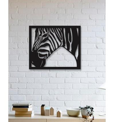 Unique Custom Designed Wall Decoration Product Zebra Metal