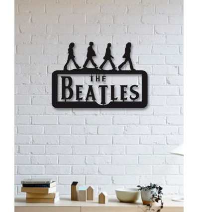 The Beatles Metal Wall Art