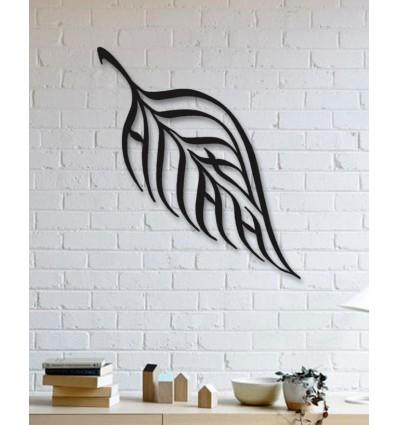 Leaf Design Ic Metal Wall Art Home
